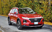 2019 Hyundai Santa Fe 2.0T Ultimate Turbo AWD Road Test