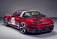 2020 Porsche 911 Targa 4S Heritage Design Edition