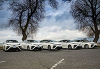 Toyota Mirai Lyft Vancouver