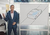 Bill Nye The Science Guy explains Porsche Taycan technology